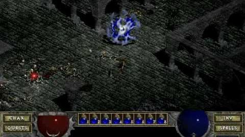 Diablo 1 spells - Blood Star (by Decimius)