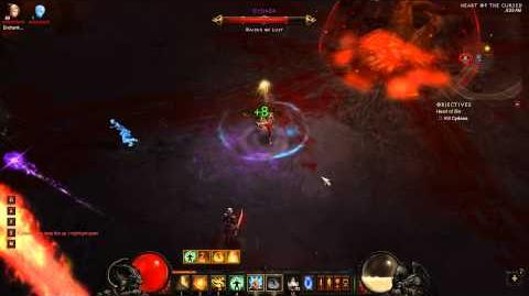 Monk - Hardcore Nightmare Cydaea Strat and Kill - Diablo 3 -
