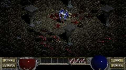 Diablo 1 spells - Nova (by Decimius)
