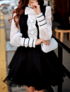 Kazuki planned vandead carnival lolita blouse outfit
