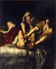 Judith by Artemisia Gentileschi