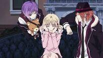 Laito , Yui , and Kanato
