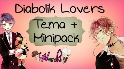 Pedido Tema para Win7 Diabolik Lovers + Mini pack!!