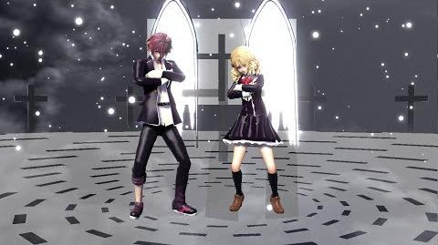 MMD - Ayato and Yui in ''LUVORATORRRRRY!'' Diabolik Lovers