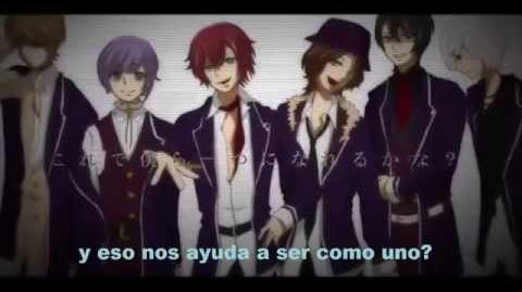 Black Board sub esp (Hatsune Miku) Diabolik Lovers Versión