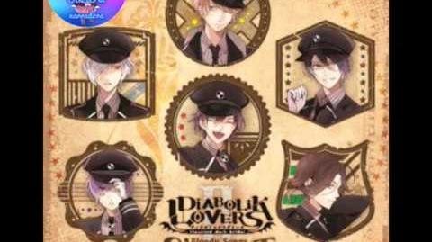 Diabolik lovers BLOODY☆MAYIM☆MAYIM SAMPLE ALBUM BLOODY SONGS -SUPER BEST- II SAKAMAKI