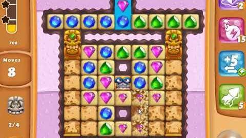 Diamond Digger Saga Level 1378 - NO BOOSTERS - SKILLGAMING ✔️
