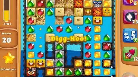 Diamond Digger Saga Level 1606 - NO BOOSTERS SKILLGAMING ✔️