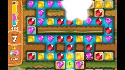 Diamond Digger Saga Level 859 GAMEPLAY