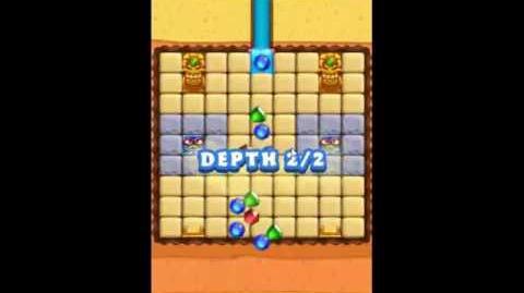 Diamond Digger Saga Level 1036