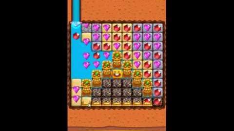 Diamond Digger Saga Level 1043 - NO BOOSTERS