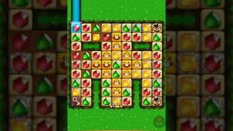 Diamond Digger Saga Level 1404 (no boosters)