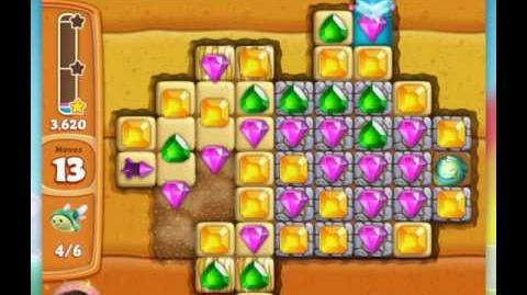 Diamond Digger Saga level 16 walkthrough