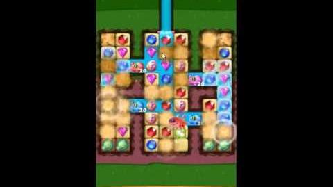 Diamond Digger Saga Level 1105 - NO BOOSTERS