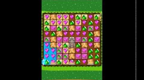 Diamond Digger Saga Level 1176 - NO BOOSTERS