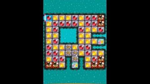 Diamond Digger Saga Level 1208 - NO BOOSTERS