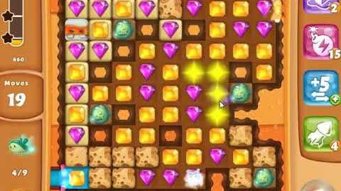 Diamond Digger Saga Level 1358 - NO BOOSTERS - SKILLGAMING ✔️