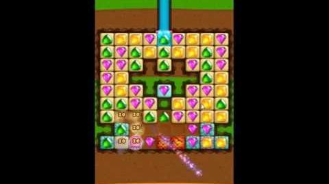 Diamond Digger Saga Level 1056 - NO BOOSTERS
