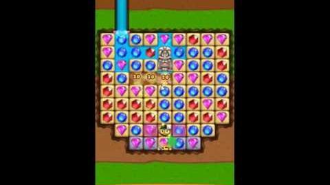 Diamond Digger Saga Level 1064 - NO BOOSTERS