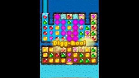 Diamond Digger Saga Level 1225 - NO BOOSTERS