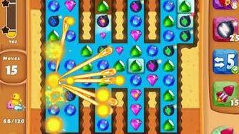 Diamond Digger Saga Level 1711 - NO BOOSTERS SKILLGAMING ✔️