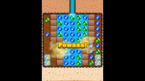 Diamond Digger Saga Level 1244 - NO BOOSTERS