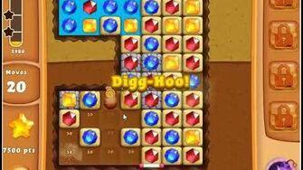 Diamond Digger Saga Level 7 - No Boosters