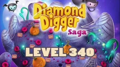Diamond Digger Saga Level 340 (No Boosters)