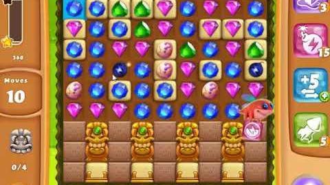 Diamond Digger Saga Level 1456 - NO BOOSTERS - SKILLGAMING ✔️