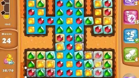 Diamond Digger Saga Level 1369 - NO BOOSTERS - SKILLGAMING ✔️