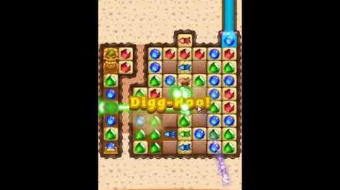 Diamond Digger Saga Level 1243 - NO BOOSTERS