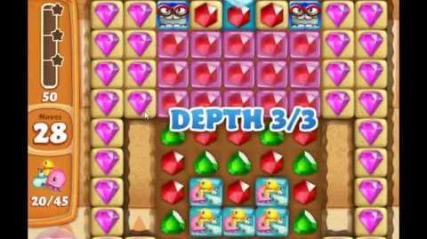 Diamond Digger Saga Level 1001