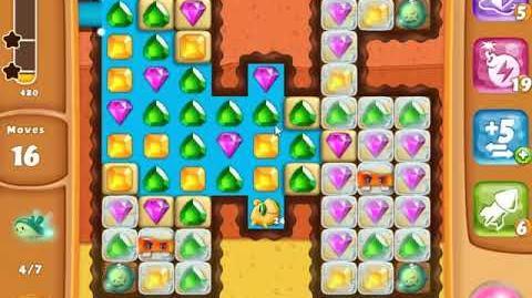 Diamond Digger Saga Level 1505 - NO BOOSTERS SKILLGAMING ✔️