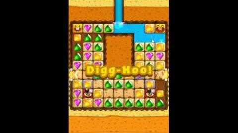 Diamond Digger Saga Level 1093 - NO BOOSTERS
