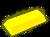 Refined gold bar