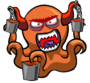 LavaOctopusMonster