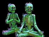 Skeleton Monks