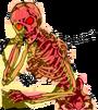 FireSkeletonCemeteryMonster