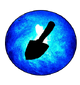BlueTrowelOrb