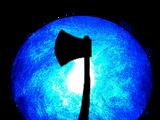 Blue Axe Orb