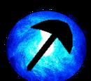 Blue Pickaxe Orb