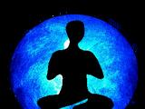 Blue Meditation Orb