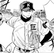 Hongou pitching