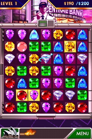 Diamond twister iphone