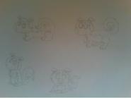 Original Di'angela Drawings