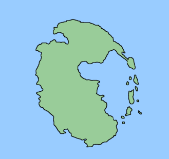 Pangear plain