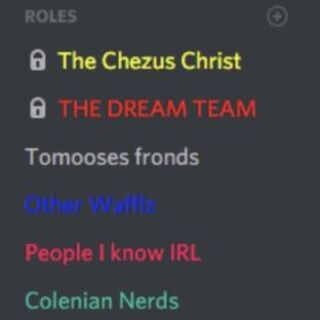 The server's roles in August 2017.