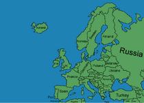 Europe Map by Zalyat