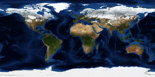 Equirectangular Terrain Map