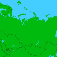 Russian Map by Texas Mapping